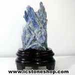 บูลไคยาไนท์ (Blue-Green Kyanite ) ผลึกธรรมชาติ (613g)