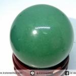 กรีนอะเวนจูรีน (Green Aventurine) ทรงบอล 3 cm