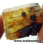 ํ▽Yellow Apatite อพาไทต์สีเหลือง กับแมกนีไทต์ (8g)