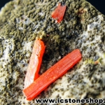 ▽โครคอยต์ (Crocoite) หินหายากจากรัสเซีย (10g)