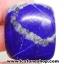 ลาพิส ลาซูลี่ Lapis Lazuli ขัดมันขนาดพกพา (47g) thumbnail 1