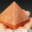 หินทรงพีระมิค- อเวนจูรีนสีส้ม Orange Aventurine (154g) thumbnail 10