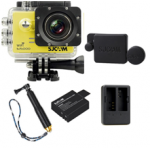 Sj5000 WiFi (Yellow)+(Battery+Dual charger+Protective Lans+TMC Gold)