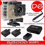SJ5000X (Gold)+ Battery + Dual Charger + TMC Selfie + Bag(L)