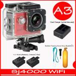 SJ4000 Wi-Fi (Red)+Battery+Dual Charger+ทุ่นลอยน้ำ