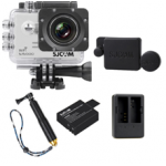 Sj5000 WiFi (White)+(Battery+Dual charger+Protective Lans+TMC Gold)