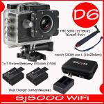 SJ5000X (Black)+ Battery + Dual Charger + TMC Selfie + Bag(L)