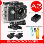 SJ4000 Wi-Fi (Black)+Battery+Dual Charger+ทุ่นลอยน้ำ