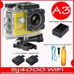 SJ4000 Wi-Fi (Yellow)+Battery+Dual Charger+ทุ่นลอยน้ำ