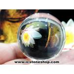 ดวงแก้วหินควอตส์ใสแท้ (จุยเจีย) ขนาด 4 เซนติเมตร เกรด A (90กรัม)