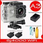 SJ4000 Wi-Fi (Silver)+Battery+Dual Charger+ทุ่นลอยน้ำ