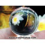 ดวงแก้วหินควอตส์ใสแท้ (จุยเจีย) ขนาด 2 เซนติเมตร เกรด A