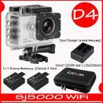 SJ5000X (White)+ Battery + Dual Charger + Bag(L)