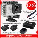SJ5000X (White)+ Battery + Dual Charger + TMC Selfie + Bag(L)