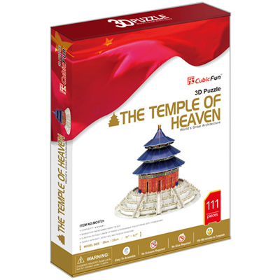 3D Puzzle Cubic Fun Temple of Heaven