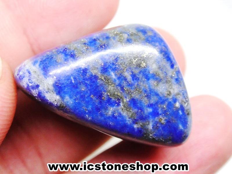 ▽ลาพิส ลาซูลี่ Lapis Lazuli ขัดมันขนาดพกพา (21g)