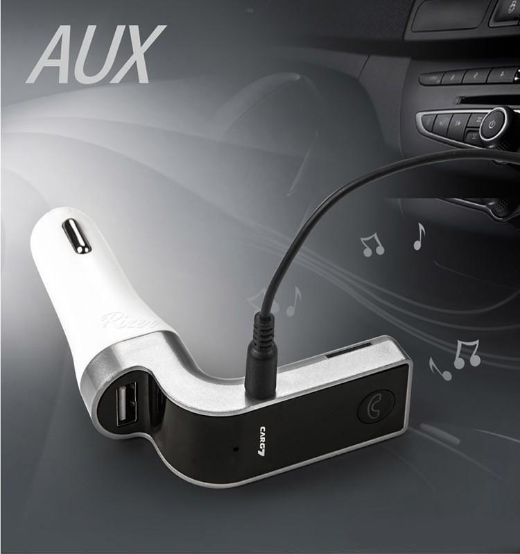 บลูทูธในรถยนต์ Bluetooth Car Charger G7