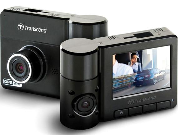 กล้องติดรถยนต์ Transcend DrivePro 520