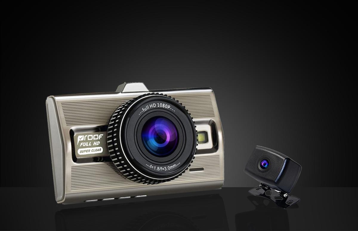 กล้องติดรถยนต์ Platinum II Dual (กล้องหน้า-หลัง)
