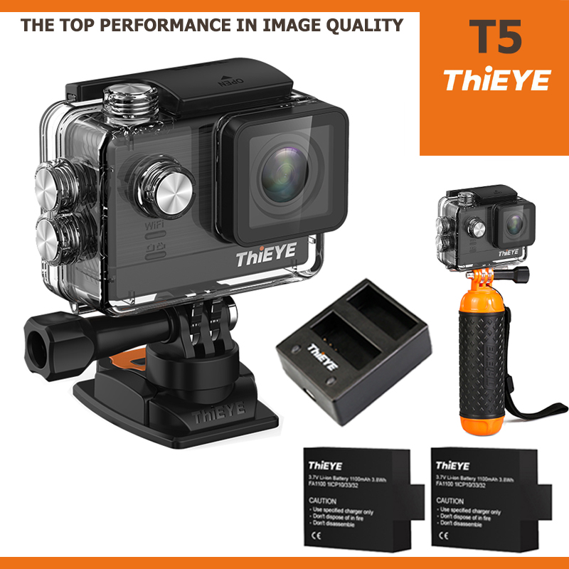 ThiEYE T5 4K 16Mp ไทย + Battery + Dual-charger + Bobber