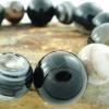 ▽สร้อยข้อมือ ตาอาเกต (Eye Agate) 12,14mm.