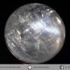 แคลไซต์โปร่งแสงเหลือบรุ้ง ( Calcite) ทรงบอล 3.8 cm