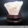 ํ▽โรสควอตซ์ Rose Quartz ธรรมชาติตั้งโต๊ะ (285g)