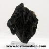 ▽ไคยาไนท์สีดำ Black Kyanite (19g) พร้อมฐานกระจก