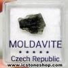 สะเก็ดดาวโมลดาไวท์ (Moldavite) 1.65ct.