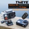 Native 4K VoiceControl WiFi ACTION CAMERA ThiEYE T5edge สั่งงานด้วยเสียง กล้องกันน้ำ