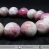 สร้อยหิน ทัวร์มาลีนสีชมพู(Pink Tourmaline) 11mm.