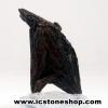 ▽ไคยาไนท์สีดำ Black Kyanite (35g) พร้อมฐานกระจก