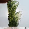 สะเก็ดดาวสีเขียว โมลดาไวท์ (Moldavite) 21.85ct.