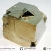 A+ เพชรหน้าทั่งซ้อน หรือไพไรต์ pyrite ทรงลูกบาศก์ (92g)