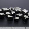ํ▽เพชรหน้าทั่ง หรือไพไรต์ pyrite ทรงลูกบาศก์ 13 ชิ้น (50g)