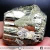 ํ▽เพชรหน้าทั่ง หรือไพไรต์ pyrite ทรงลูกบาศก์ (174g)