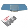 Car Camcorder Rear-View Mirror F3C + Sandisk 32 GB Ultra