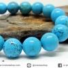 ํ▽สร้อยข้อมือ เทอร์ควอยส์ (Turquoise) 10mm.