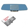 Car Camcorder Rear-View Mirror F3C + Sandisk 16 GB Ultra
