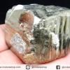 เพชรหน้าทั่ง หรือไพไรต์ pyrite ทรงลูกบาศก์ (203g)
