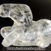 หินควอตซ์แกะเป็นรูปม้า ปีนักษัตร ปีมะเมีย (7g)
