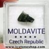 สะเก็ดดาวโมลดาไวท์ (Moldavite) 1.68ct.
