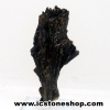 ▽ไคยาไนท์สีดำ Black Kyanite (16g) พร้อมฐานกระจก