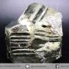 เพชรหน้าทั่ง หรือไพไรต์ pyrite ทรงลูกบาศก์คู่ (222g)