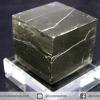 A+ เพชรหน้าทั่ง หรือไพไรต์ pyrite ทรงลูกบาศก์ (50g)