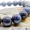 ▽สร้อยหิน ปีเตอร์ไซต์สีน้ำเงิน (Blue Pietersite) 11mm.
