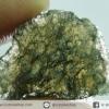 สะเก็ดดาวสีเขียว โมลดาไวท์ (Moldavite) 9.5ct.