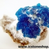 ▽แคแวนไซต์ Cavansite with Okenite on Matrix (3.6g)