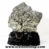 เพชรหน้าทั่งขนาดใหญ่ หรือกลุ่มไพไรต์ pyrite (3.56 Kg)
