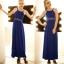 [พร้อมส่ง] ชุดเดรสยาวสีน้ำเงินผ้าcotton blend , cutting/pattern เนี๊ยบ thumbnail 8